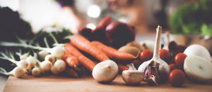 Healthy Food on a cutting bourd