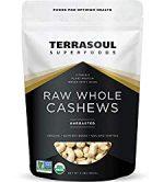 Terrasoul Raw Whole Cashews